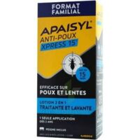 Apaisyl Anti-poux Xpress Lotion Antipoux Et Lente 300ml
